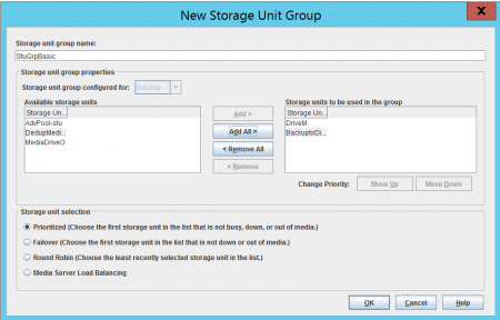 New Storage Unit Group